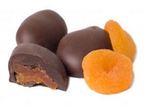 Абрикосы в шоколаде