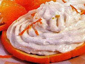 Апельсиновый творог
