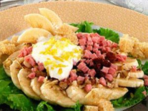 Банановый салат