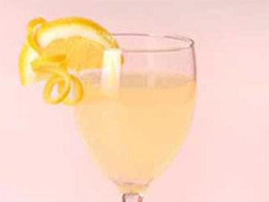 Лимонный коктейль