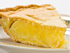 Лимонный пирог из песочного теста