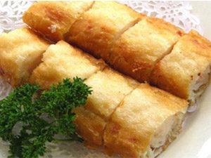 Рулет картофельный с курицей