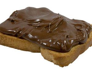 Шоколадная паста с творогом