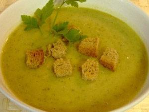 Суп из тертых кабачков