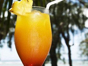 Апельсиново-ананасовый коктейль